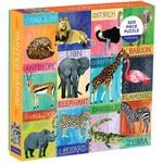 Mudpuppy Painted Safari  - 500 Piece Jigsaw Puzzle