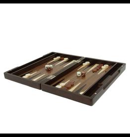 "Wood Expressions Backgammon 12"" Walnut (WE)"