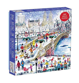Galison Michael Storrings: Bow Bridge in Central Park  - 500 Piece Jigsaw Puzzle