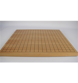 """Worldwise Imports [Pickup Only] Flat Wooden Go Board 18"""" 3/4 (WI)"""