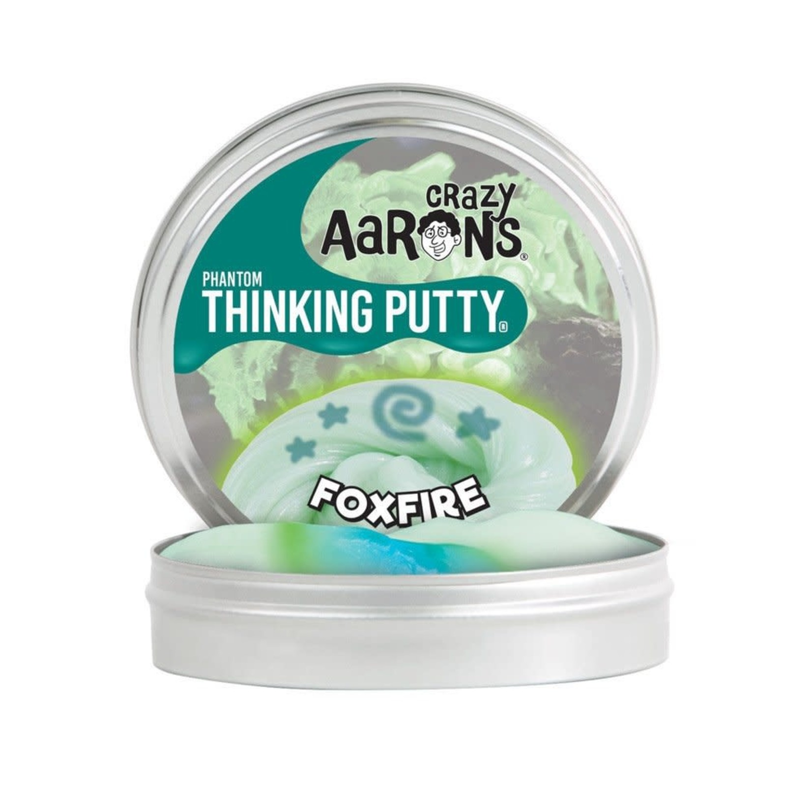 "Crazy Aarons Thinking Putty 4"" Foxfire"