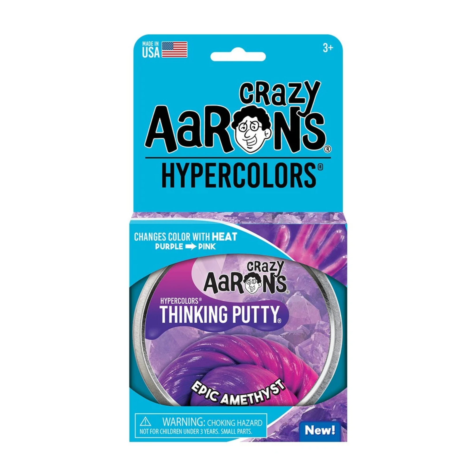 """Crazy Aarons Thinking Putty: Epic Amethyst (4"""")"""
