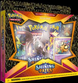 Pokémon Pokémon Shining Fates Mad Party Pin Collection (Dedenne)