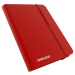 Gamegenic Casual Binder: 8-Pocket Red