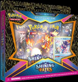 Pokémon Pokémon Shining Fates Mad Party Pin Collection (Galarian Mr. Rime)