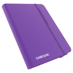 Gamegenic Casual Binder: 8-Pocket Purple