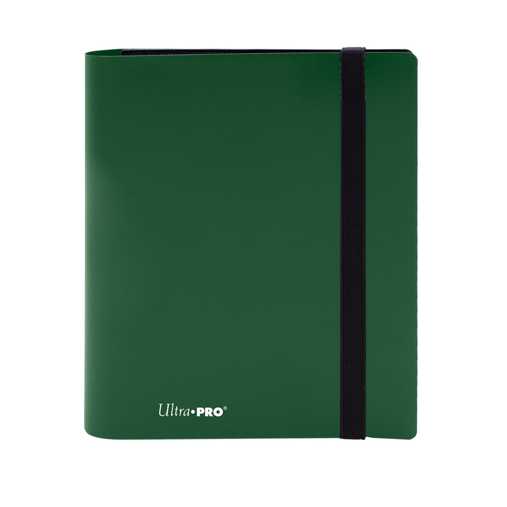 Ultra Pro Eclipse: 4-Pocket Binder Forest Green