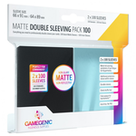 Gamegenic Card Sleeves: Standard Matte Double Sleeving Pack (100)