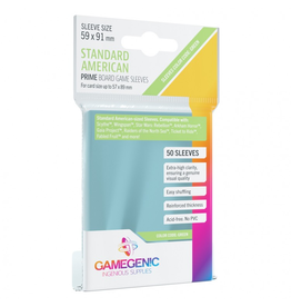 Gamegenic GameGenic Prime Card Sleeves: Standard American (50)