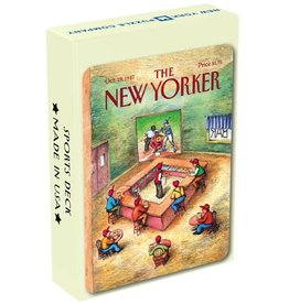 New York Puzzle Company New Yorker Playing Cards: Sports Cartoons