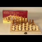 "Worldwise Imports Chess Set 10.5"" Wood Folding (WI)"