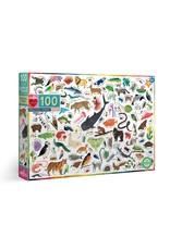 Eeboo Beautiful World - 100 Piece Jigsaw Puzzle