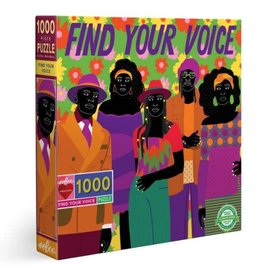 Eeboo Find Your Voice - 1000 Piece Jigsaw Puzzle