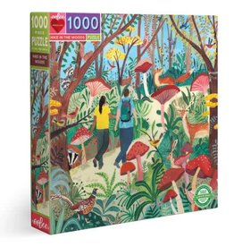 Eeboo Hike in the Woods - 1000 Piece Jigsaw Puzzle