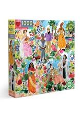 Eeboo Poet's Garden 1000 Piece Jigsaw Puzzle