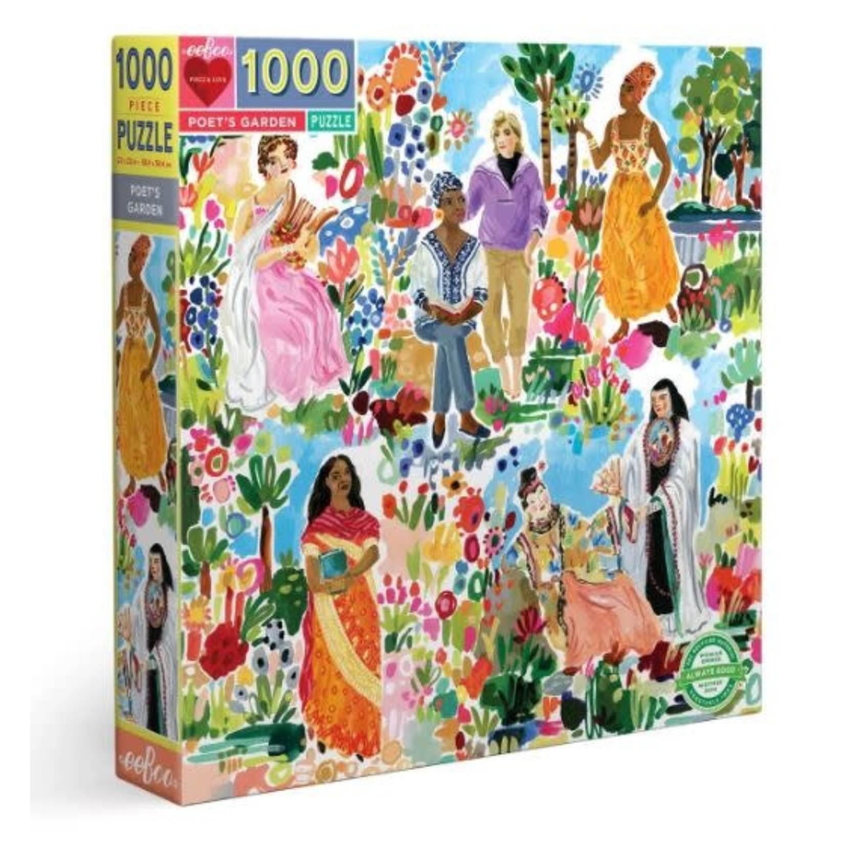 Eeboo Poet's Garden - 1000 Piece Jigsaw Puzzle