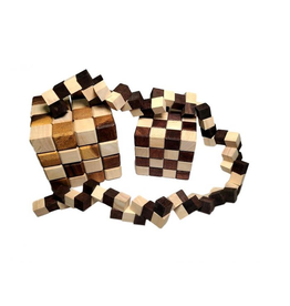 Creative Crafthouse Large King Snake Puzzle (4x4x4)