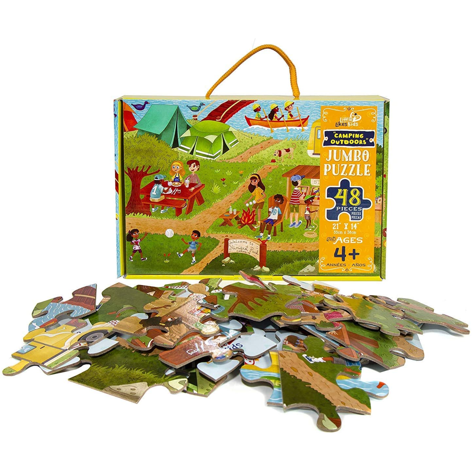 Little Likes Kids Camping Outdoors 48p
