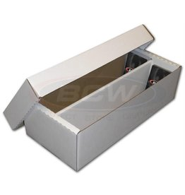 BCW [Pickup Only] Cardboard Box 1600 Ct