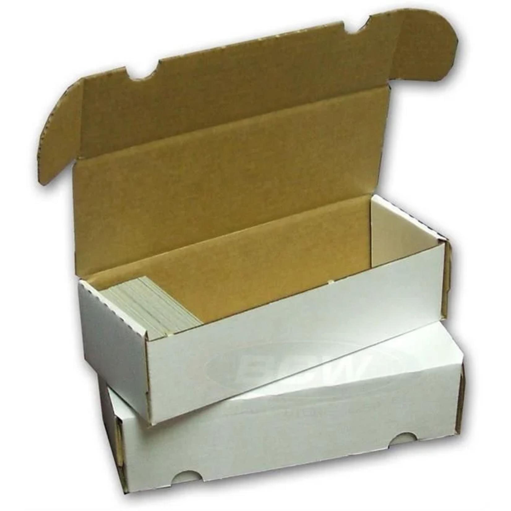 BCW Cardboard Box 550 Ct