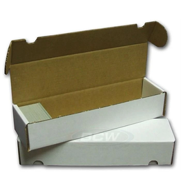 BCW [Pickup Only] Cardboard Box 800 Ct