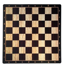 Wood Expressions Chess Board Mousepad: Wenge with Light Wood (WE)