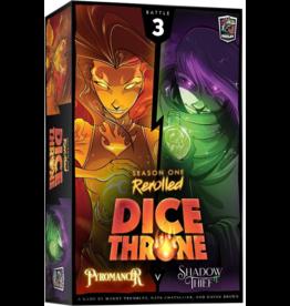 Roxley Dice Throne Season One Rerolled: Pyromancer vs Shadow Thief