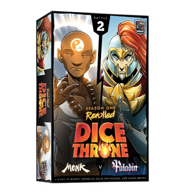 Roxley Dice Throne Season One Rerolled: Monk vs Paladin