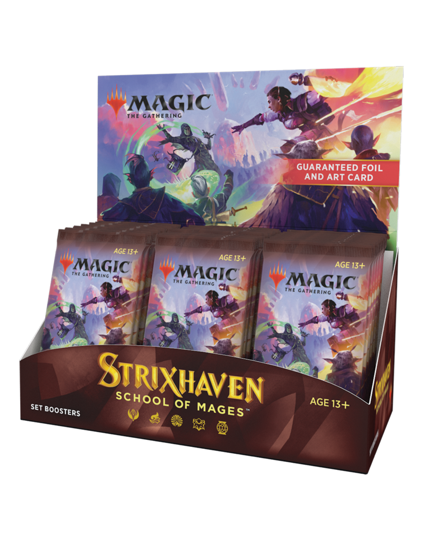 Magic: The Gathering Magic: The Gathering - Strixhaven: School of Mages - Set Booster Box