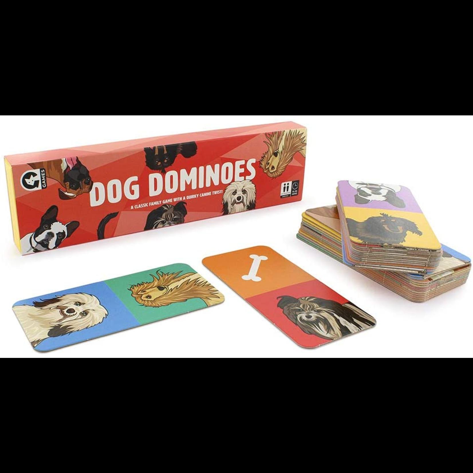 Ginger Fox Pet Dog Dominoes