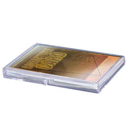 Ultra Pro Clear Hinged Box (15ct.)