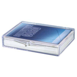 Ultra Pro Clear Hinged Box  (35ct.)