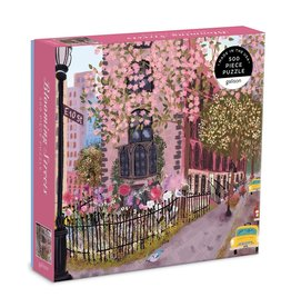Galison Blooming Streets - 500 Piece Jigsaw Puzzle