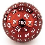 Hymgho Dice US Hymgho d100 Titan's Fist Ancient Red