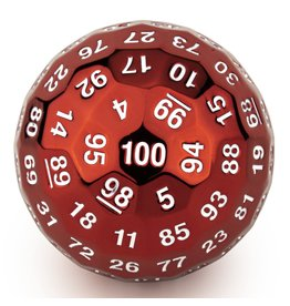 Hymgho Dice US Hymgho d100 Titan's Fist Ancient Red