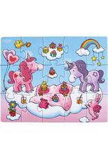 Haba Unicorn Glitterluck Puzzle 3-set