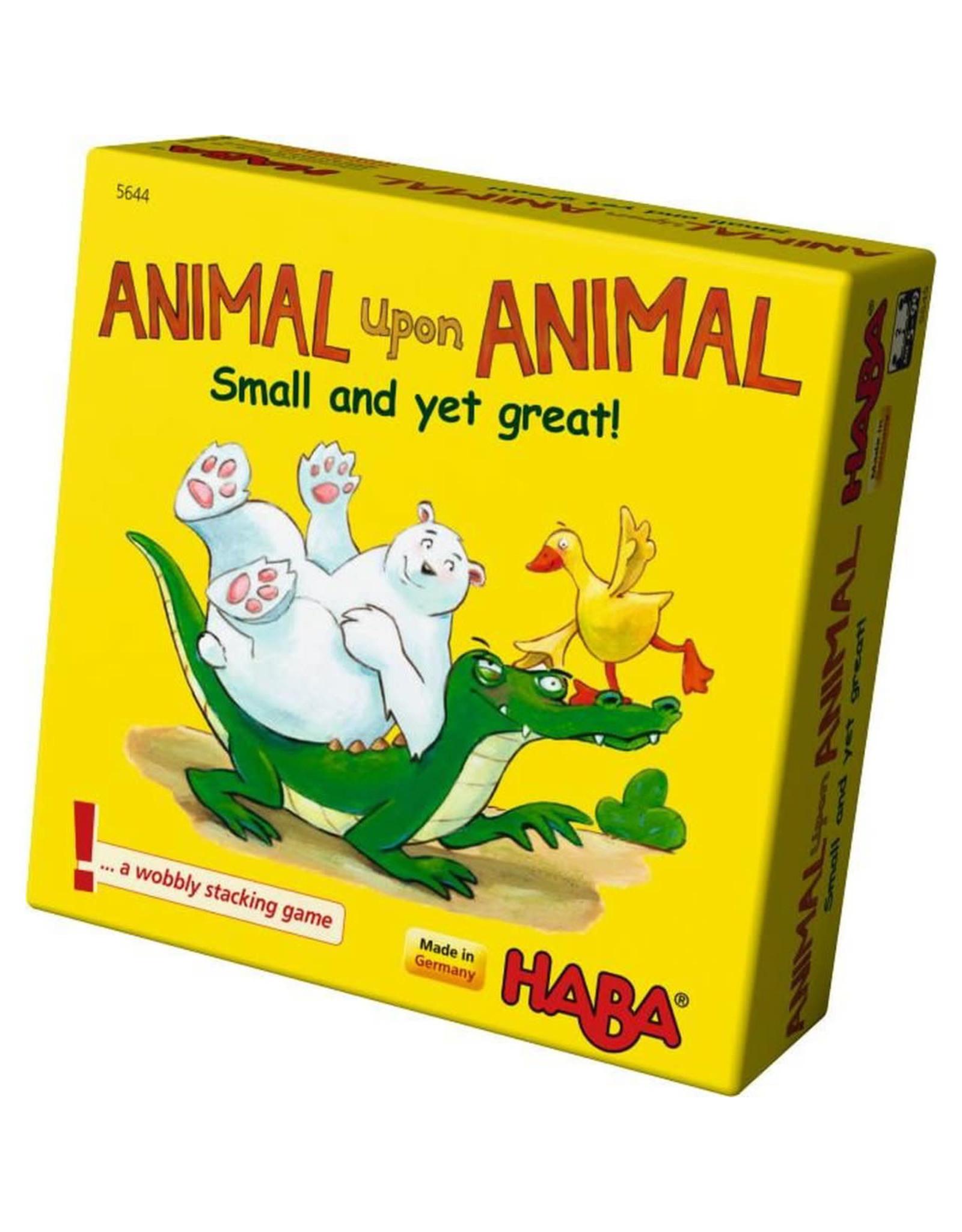 Haba Animal Upon Animal Small Great