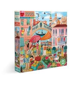 Eeboo Venice Open Market - 1000 Piece Jigsaw Puzzle