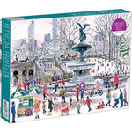 Galison Bethesda Fountain by Michael Storrings - 1000 Piece jigsaw puzzle