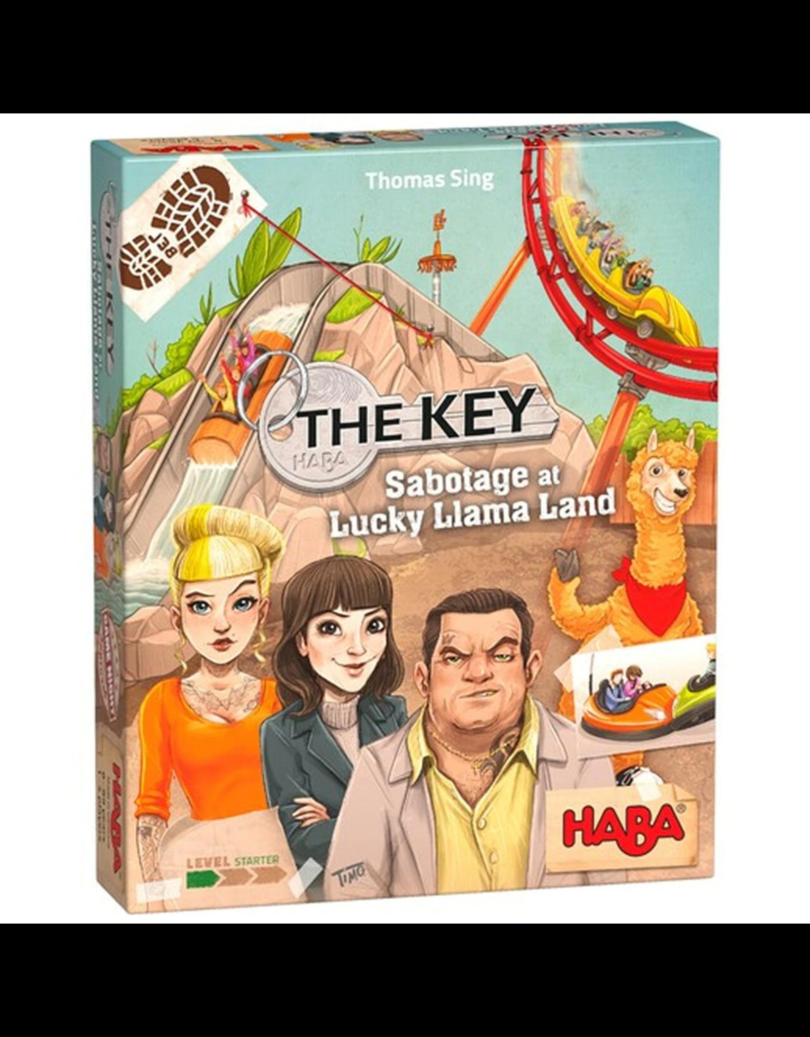 Haba The Key: Sabotage at Lucky Llama Land