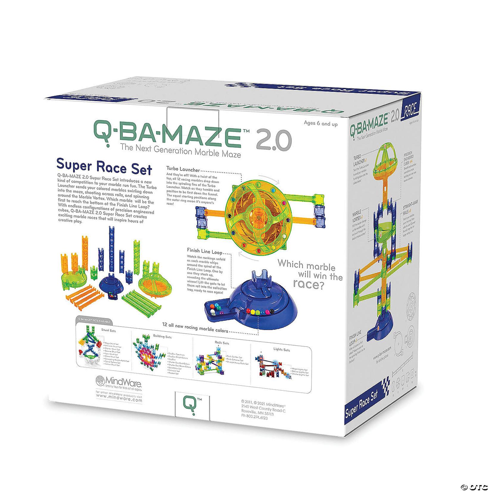 Mindware Q-Ba-Maze 2.0 Rally Racing Set