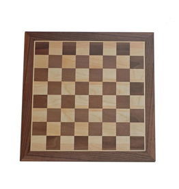 """Wood Expressions [Pickup Only] Chess Board Walnut 12"""""""