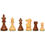 "Wood Expressions Chess Pieces 3.5"" English Staunton"