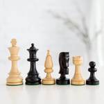 """Wood Expressions Chess Pieces 3.5"""" Russian Staunton"""