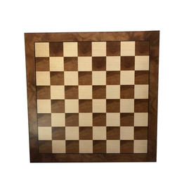 """Wood Expressions [Pickup Only] Chess Board Camphor 18 7/8"""""""