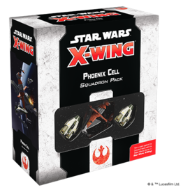 Fantasy Flight Games Star Wars X-Wing 2nd Edition: Phoenix Cell Squadron Pack