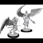 WizKids Minis Dungeons & Dragons (unpainted): Deva & Erinyes Wave 13