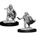 WizKids Minis Dungeons & Dragons (unpainted): Halfling Rogue (Male) Wave 13