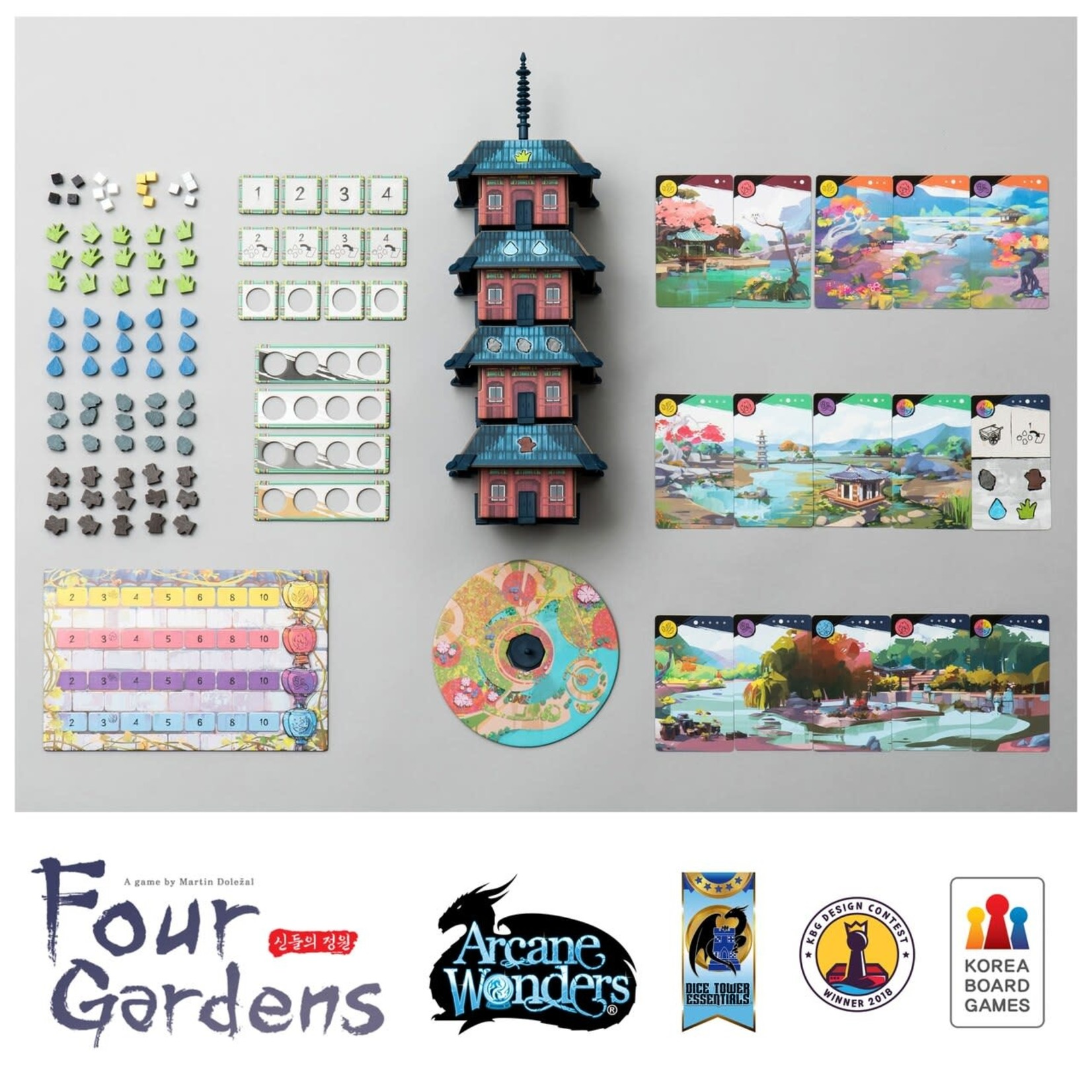 Arcane Wonders Four Gardens