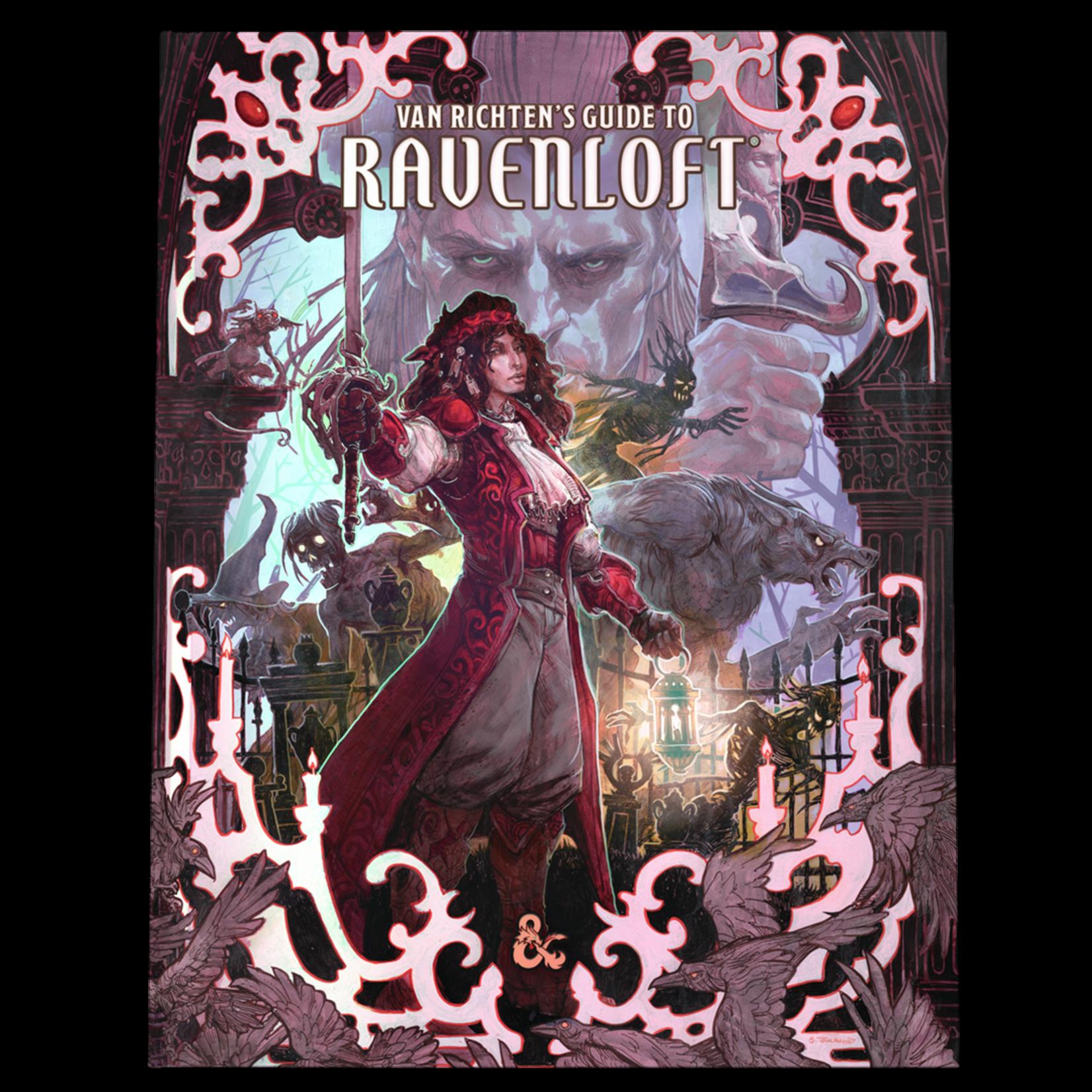Dungeons & Dragons Dungeons & Dragons 5th Edition: Van Richten's Guide to Ravenloft  (Alternate-Art Cover)